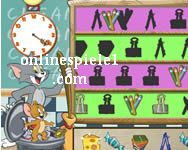Tom and Jerry classroom clean up Tom und Jerry online spiele